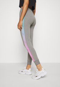 SIKSILK - FADE RUNNER TRACK PANTS - Tracksuit bottoms - grey marl - 3