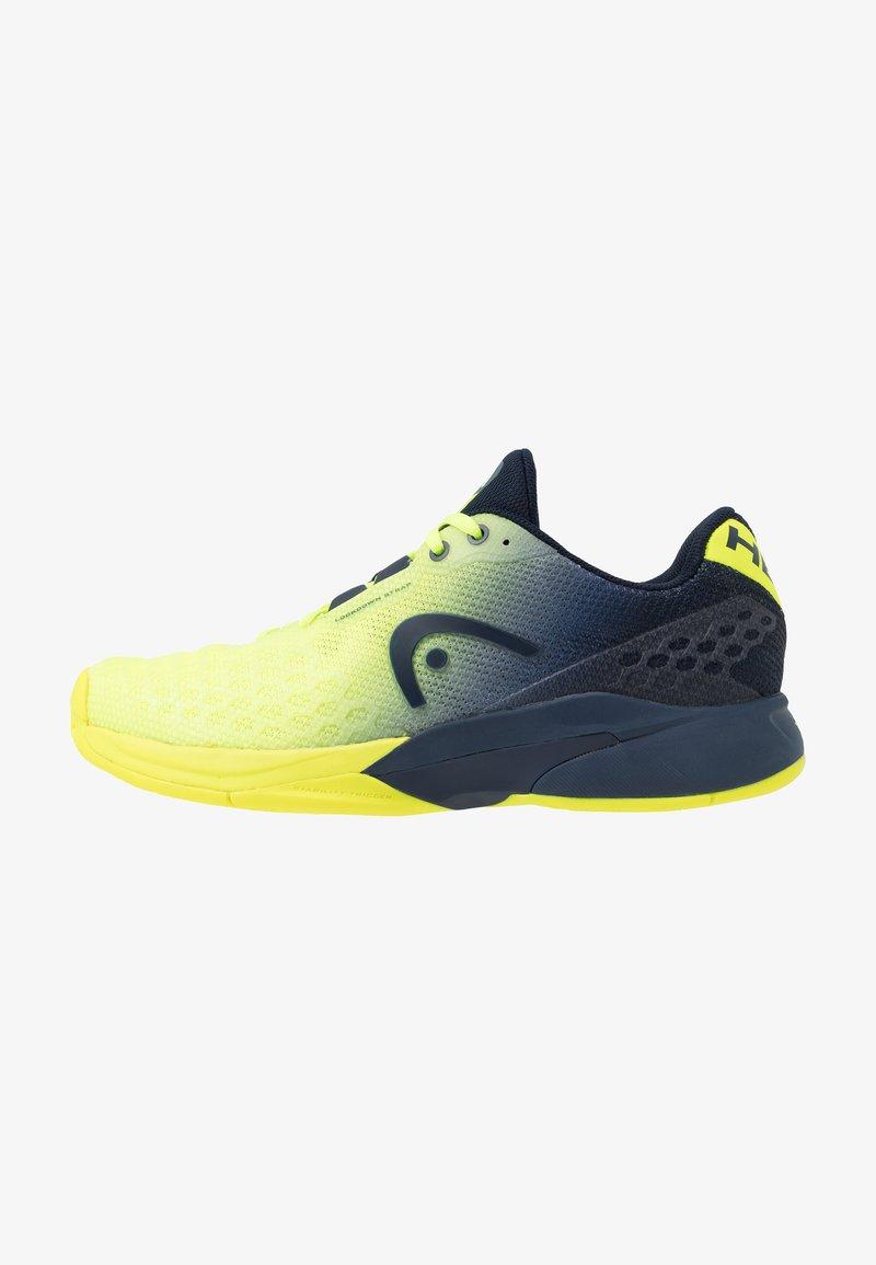 Head - REVOLT PRO 3.0 - Allcourt tennissko - neon yellow