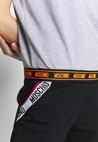 Moschino Underwear - SHORT SLEEVE - Pyjama top - gray melange - 5
