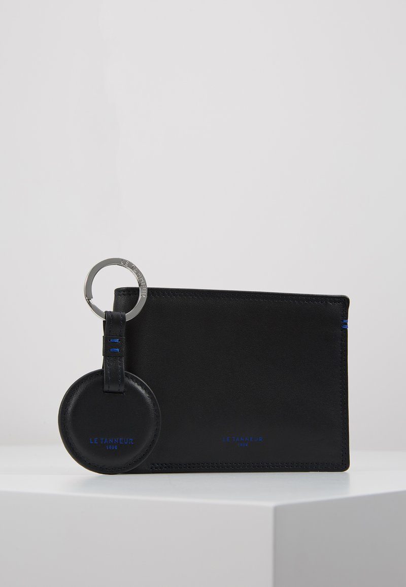 Le Tanneur - BOX WITH KEY RING AND WALLET ZIPPED POCKET SHUTTERS SET - Klíčenka - noir