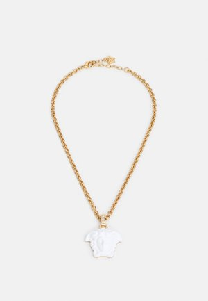 NECKLACE MEDUSA - Necklace - gold-coloured/white