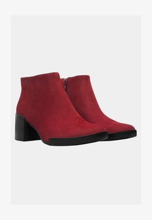 LOTTA - Classic ankle boots - red