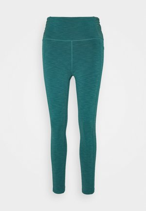 SUPER SCULPT 7/8 YOGA LEGGINGS - Medias - june bug green