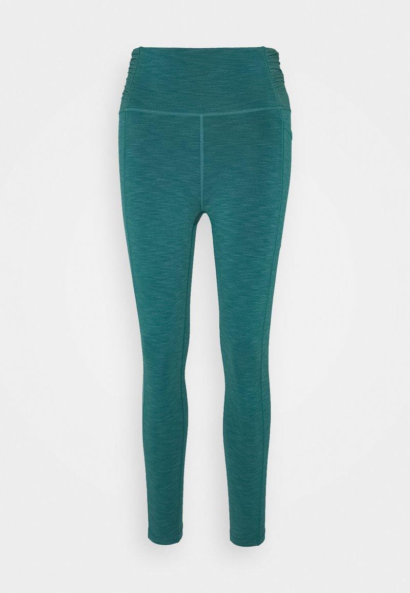 Sweaty Betty - SUPER SCULPT 7/8 YOGA LEGGINGS - Leggings - june bug green