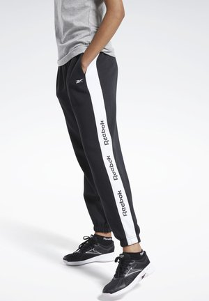 TRAINING ESSENTIALS LOGO JOGGERS - Joggebukse - black