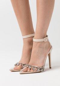 BEBO - RASSEL - High heels - clear/nude - 0