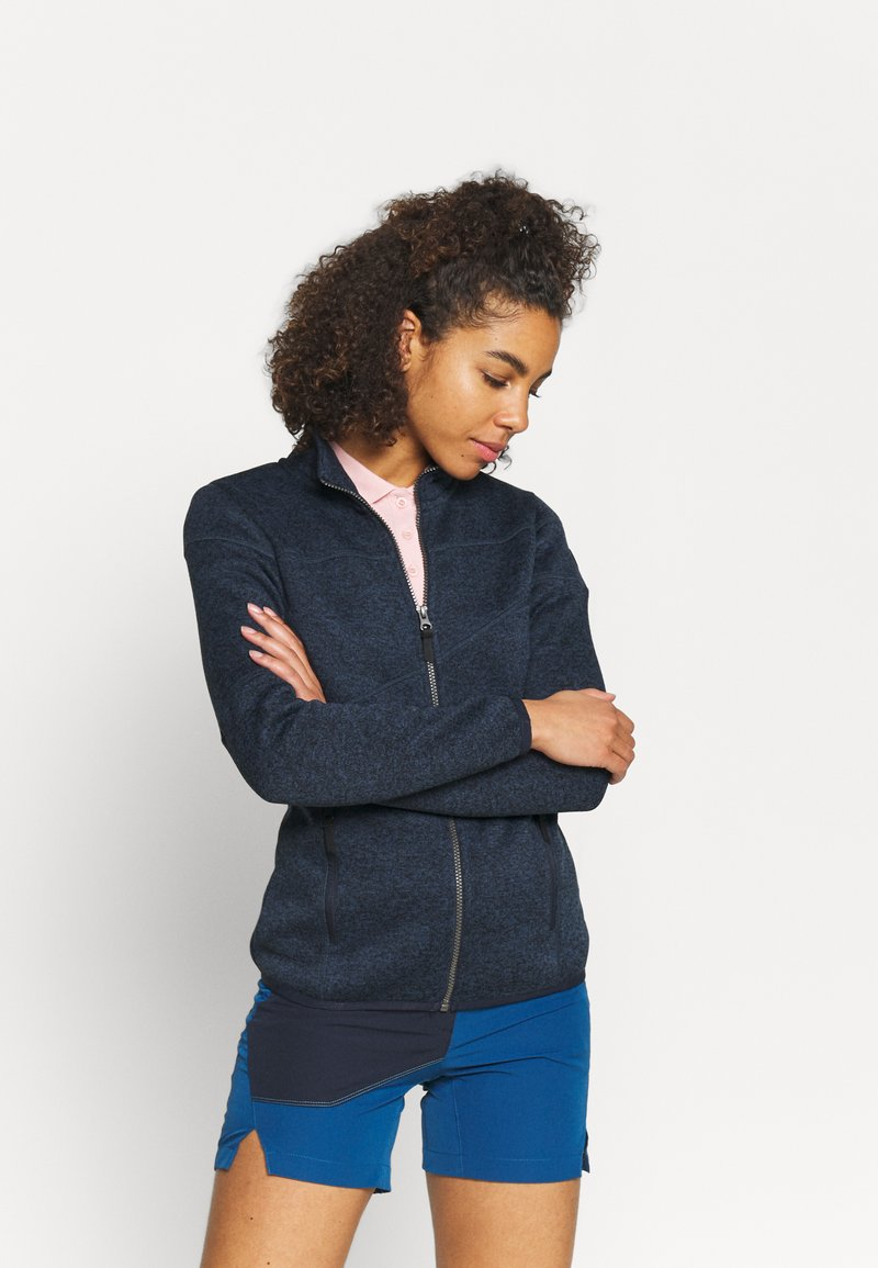 Icepeak - ALTOONA - Fleece jacket - dark blue