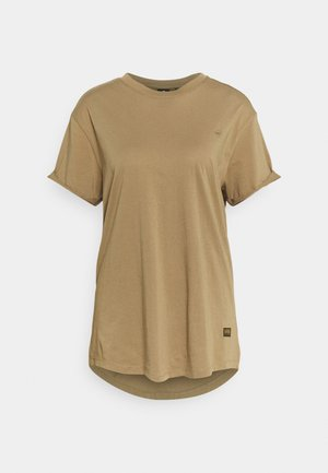 LASH LOOSE - Basic T-shirt - safari