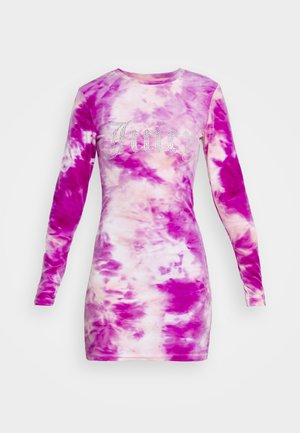 VIVIAN TIE DYE DRESS - Jurk - rosebud/almond blossom