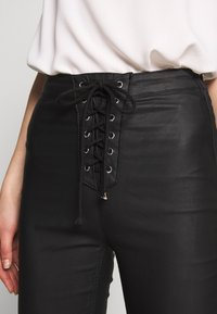 Missguided - VICE COATED - Jeans Skinny Fit - black - 3