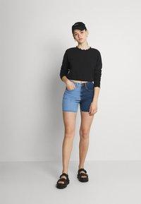 ONLY - ONLHAISLEY LIFE  - Sweatshirt - black - 1