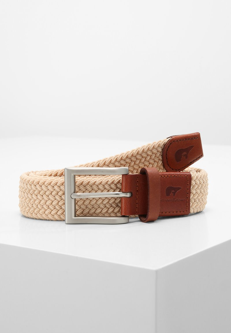 Slopes&Town - CLASSIC - Braided belt - sand