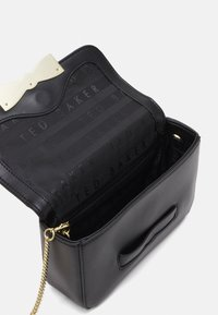 Ted Baker - OCTAVI SLOTTED BOW XBODY BAG - Across body bag - black - 2