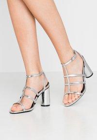 Even&Odd - Sandaler med høye hæler - silver - 0