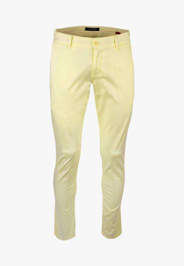 Trousers - light/pastel yellow