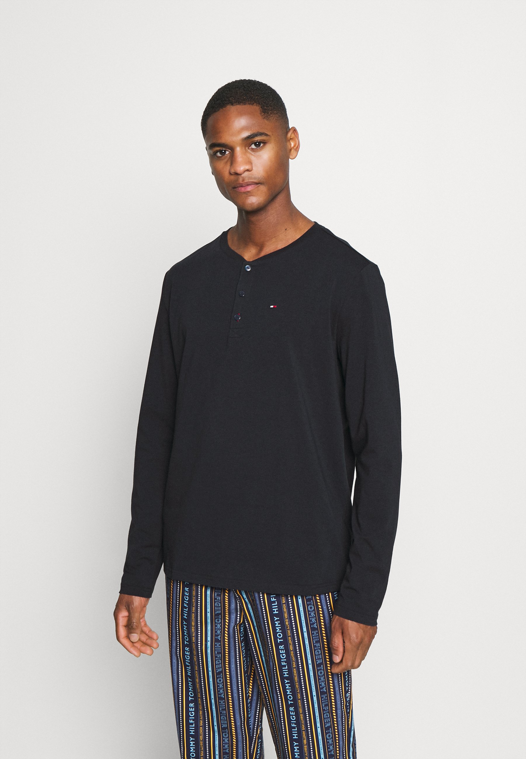 Men MODERN STRIPE HENLEY - Pyjamas