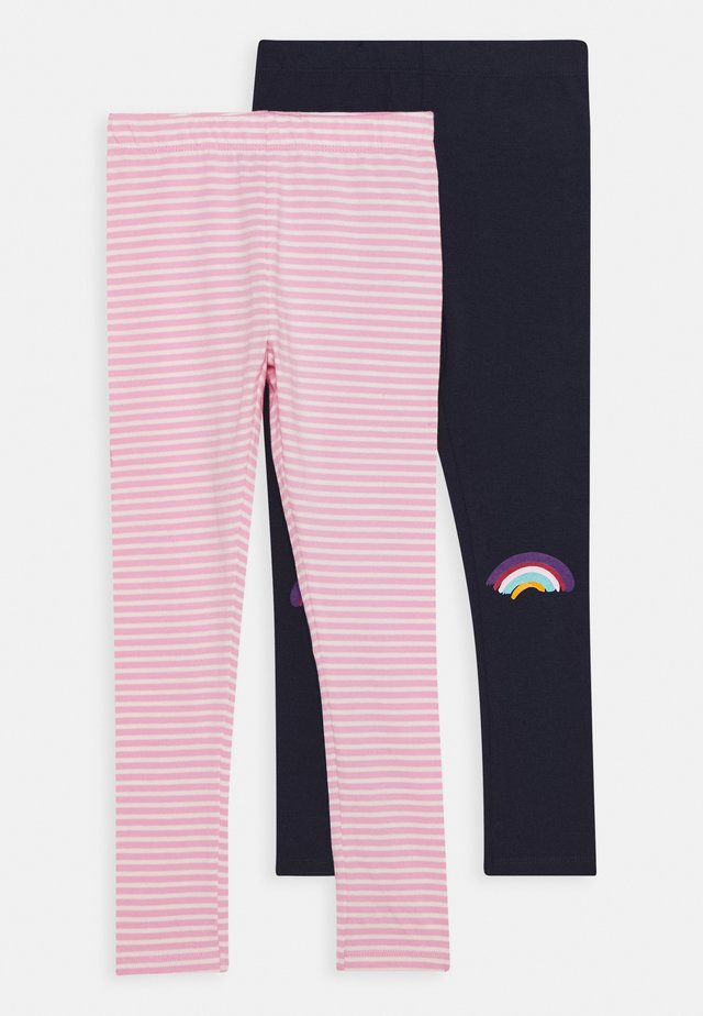 SMALL GIRLS 2 PACK - Leggings - navy blazer