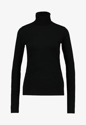 CHIE TURTLENECK - Long sleeved top - black