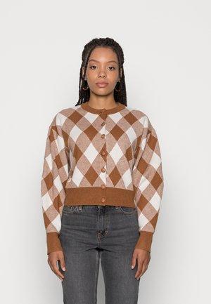 LANA CARDI DOUBLE - Cardigan - brown