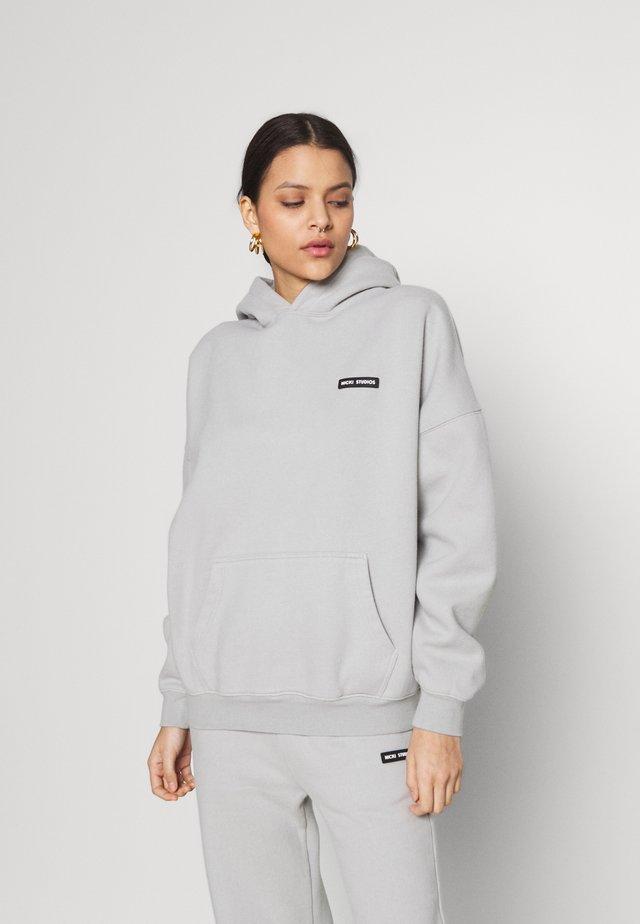 LOGOHOODIE - Sweater - pearlriver