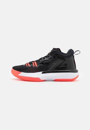 ZION 1 UNISEX - Chaussures de basket - black/bright crimson/white