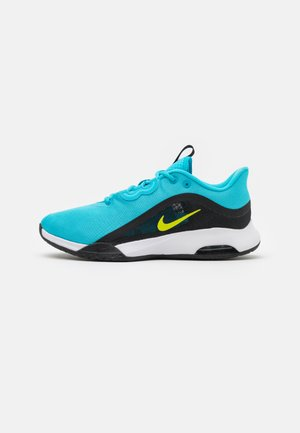 AIR MAX VOLLEY - Zapatillas de tenis para todas las superficies - chlorine blue/cyber/black/white