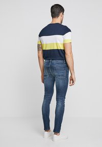 Pier One - Jeans Skinny Fit -  dark blue denim