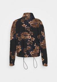 ONLY - ONLALICE ZIP - Zip-up sweatshirt - black - 7