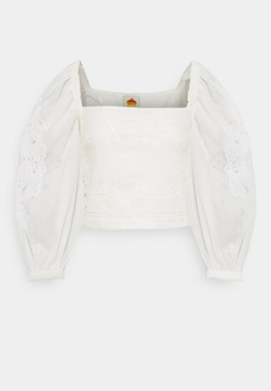 BLOUSE - Long sleeved top - off-white