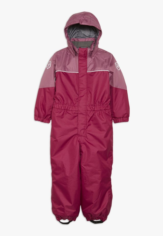KAZOR PADDED COVERALL - Skipak - raspberry