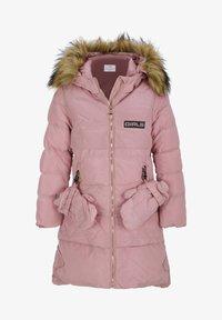 Cipo & Baxx - MIT HANDSCHUHEN - Winter coat - pink - 1