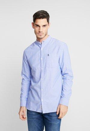 COLLARLESS OXFORD SHIRT - Overhemd - amparo blue