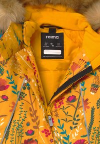 Reima - WINTER MUHVI UNISEX - Winter coat - warm yellow - 4