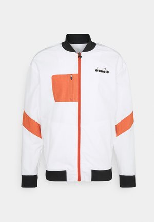 JACKET CHALLENGE - Training jacket - optical white