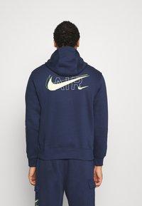 Nike Sportswear - HOODIE AIR  - Felpa con cappuccio - midnight navy - 2