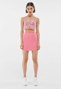 Bershka - Pencil skirt - pink - 1