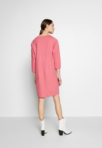 Marc O'Polo - STRAIGHT - Jersey dress - bright berry - 2