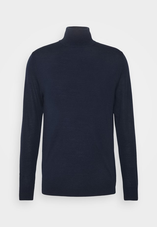 GENTS ROLL NECK - Pullover - dark blue