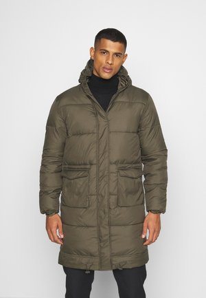 LONGLINE EXTREME JACKET UNISEX - Winter coat - khaki