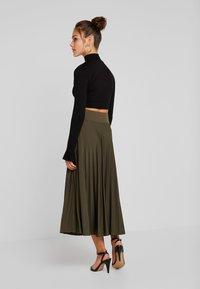 Anna Field Petite - A-line skirt - olive night - 2