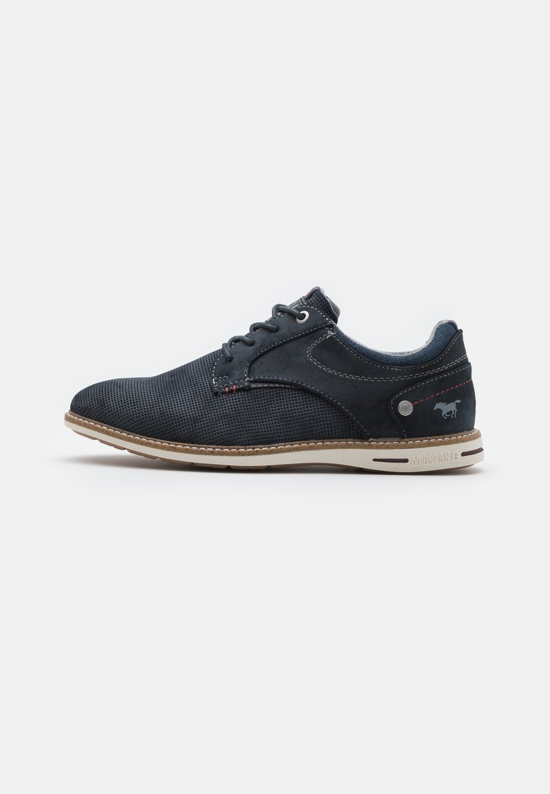 Mustang - Casual lace-ups - navy