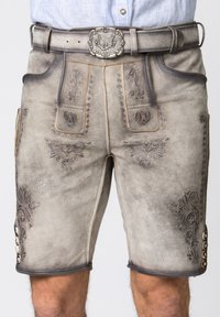 Stockerpoint - Leather trousers - rauch geäscht - 3