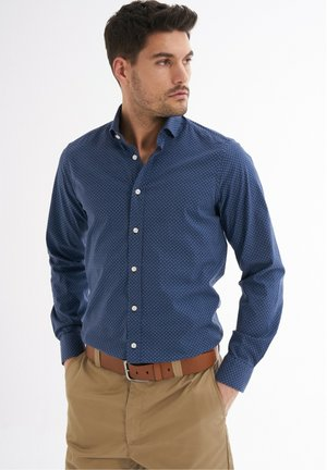 MARCIO BEDRUCKT - Shirt - dunkelblau