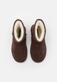 Even&Odd - LEATHER - Winter boots - dark brown - 4