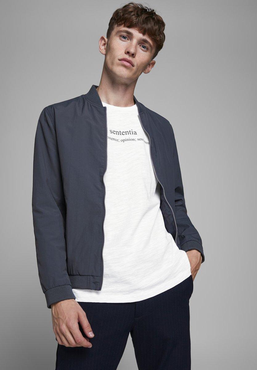 Jack & Jones PREMIUM Print T-shirt - white dkZEG