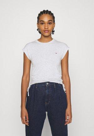 Basic T-shirt - silver grey heather