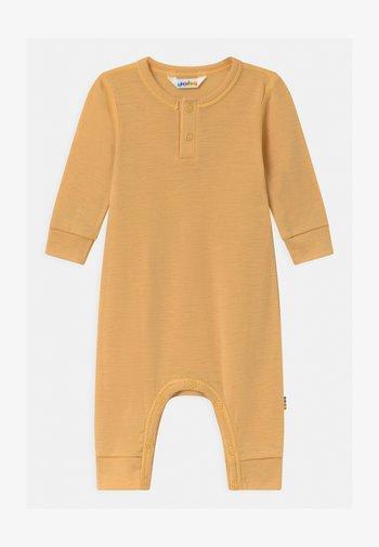 UNISEX - Jumpsuit - mustard yellow