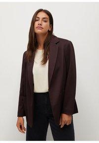Violeta by Mango - WINDOW7 - Blazer - burgundy - 0