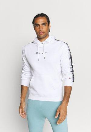 HOODED  - Sportinis megztinis - white
