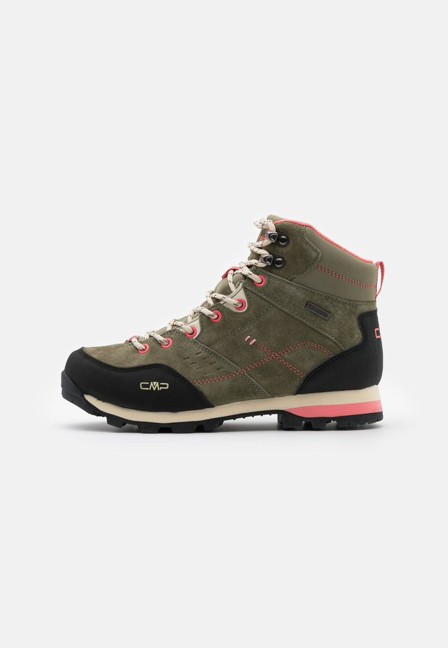 ALCOR MID TREKKING SHOE WP - Chaussures de marche - kaki